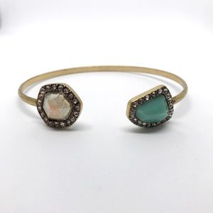 (Boutique) Jewel Bangle Cuff